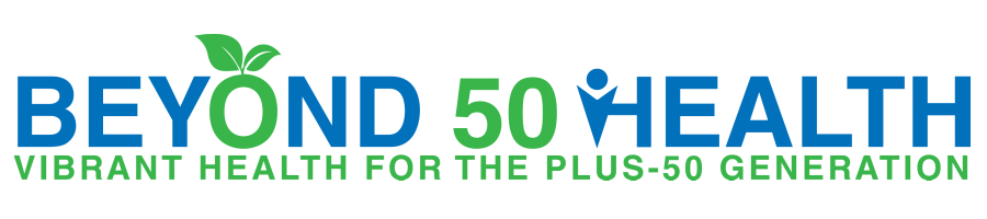 Beyond 50 Health Site Header
