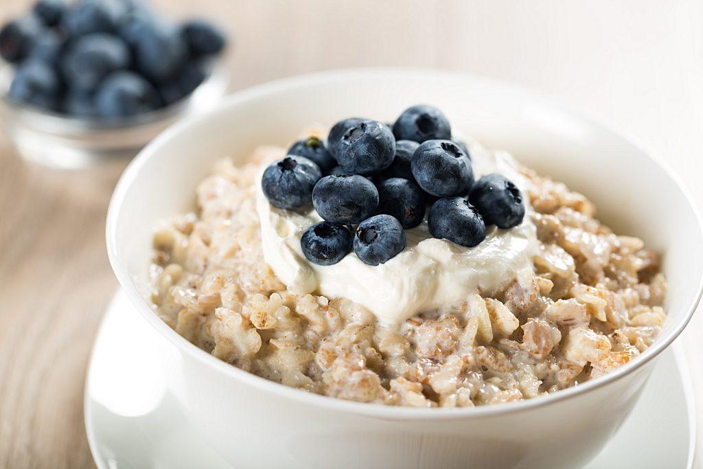oatmeal in a high blood pressure diet